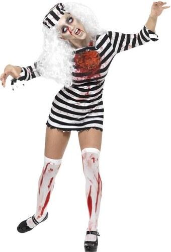 Kostým Zombie vězenkyně Velikost L 44-46