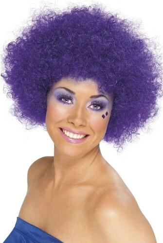 Paruka Funky Afro fialová