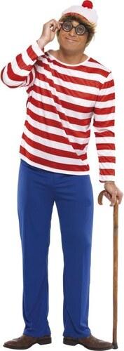 Kostým Wheres Wally Velikost L 52-54