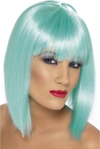 Paruka Glam neon aqua
