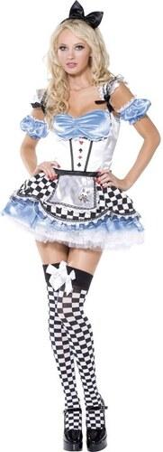 Kostým Sexy Sweet Alice Velikost M 40-42