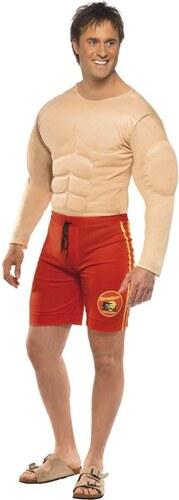 Kostým Baywatch Lifeguard svalovec Velikost L 52-54