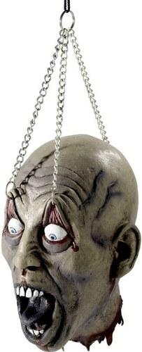 Utržená zavěšená hlava