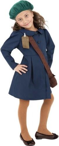 Dětský kostým Válečná evakuovaná dívka Pro věk (roků) 10-12
