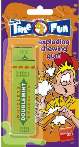 Explodující žvýkačka