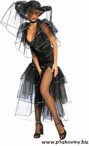 Kostým Šťastná vdova Velikost M 40-42