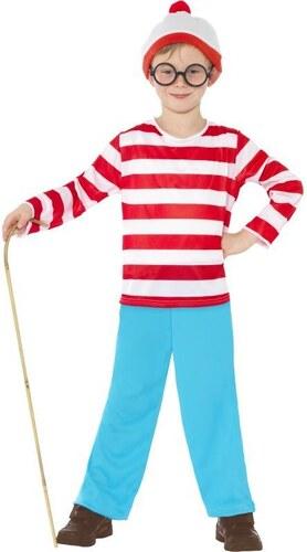 Dětský kostým Wheres Wally? Pro věk (roků) 10-12