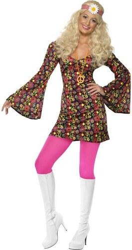 Kostým Hippiesačka Velikost L 44-46