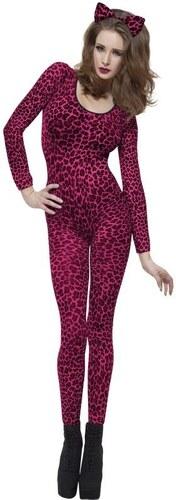 Leopardí body růžové