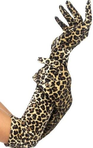 Rukavice leopard 52 cm