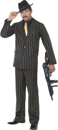 Kostým Gangster Velikost L 52-54