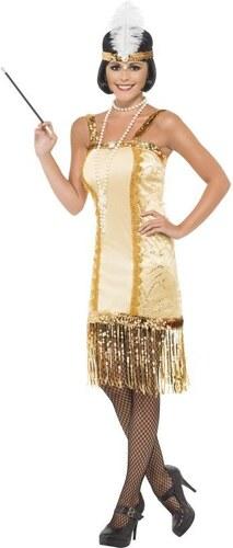 Kostým Charleston flapper Velikost L 44-46
