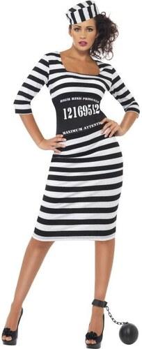 Kostým Vězeňkyně Velikost L 44-46