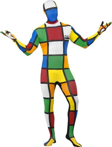 Celotělový overal Rubikova kostka Velikost L 52-54