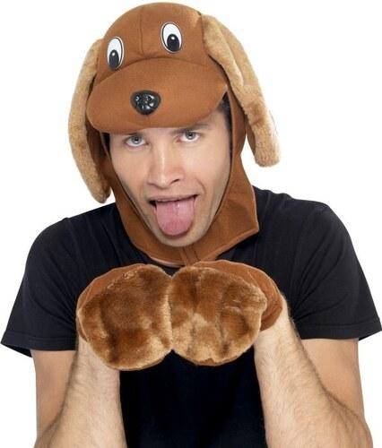 Čepice a rukavice Pes