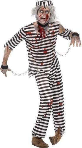 Kostým Zombie vězeň Velikost L 52-54