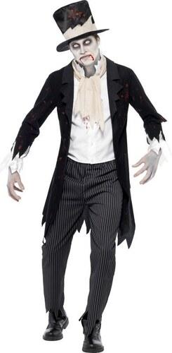 Kostým Zombie ženich Velikost L 52-54