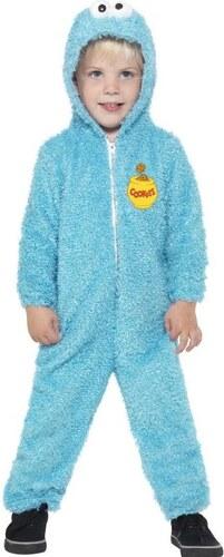 Dětský kostým Cookie Sesame Street Pro věk (roků) 3-4