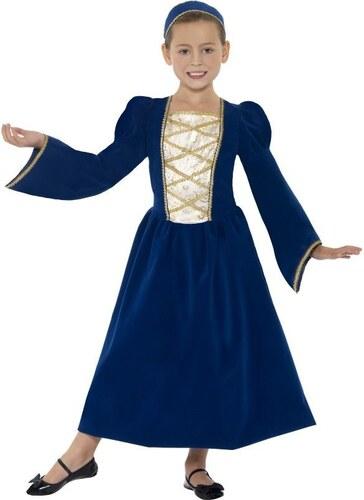 Dětský kostým Tudor princess Pro věk (roků) 10-12