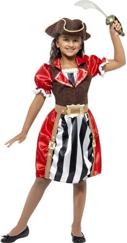Dětský kostým Pirátská kapitánka Pro věk (roků) 10-12