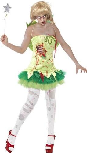 Kostým Zombie víla Velikost M 40-42