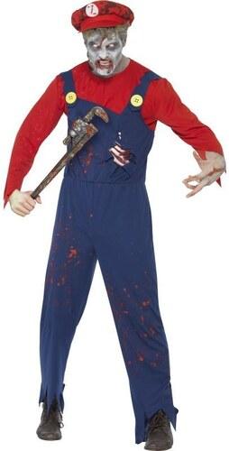 Kostým Zombie opravář Velikost L 52-54