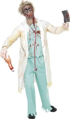 Kostým Zombie doktor Velikost L 52-54