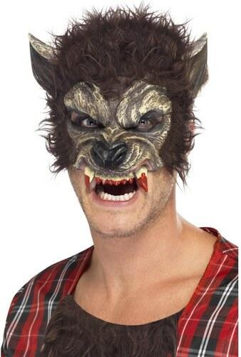 Maska Vlkodlak poloviční maska