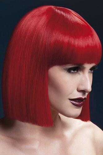 Paruka Lola červená