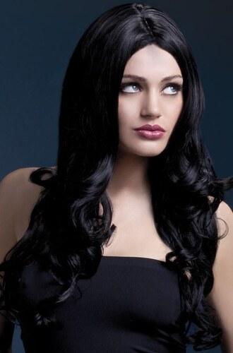 Paruka Rhianne černá