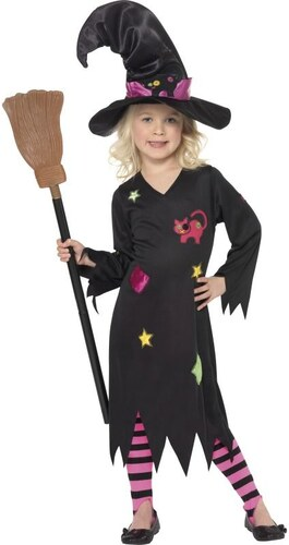 Dětský kostým Čarodějnice Pro věk (roků) 3-4