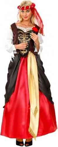 Kostým Renesanční dívka Velikost M/L 42-44