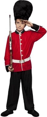 Dětský kostým Britský voják Pro věk (roků) 3-4