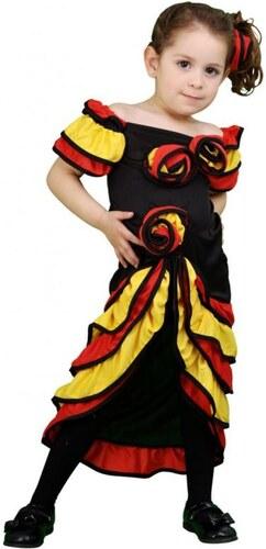 Dětský kostým Tanečnice rumby Pro věk (roků) 3-4