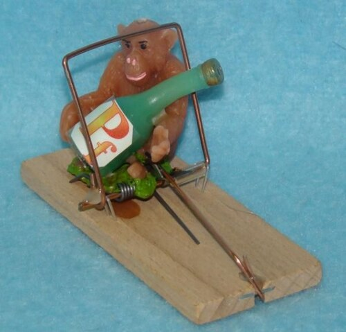 Svíčka pastička Opice