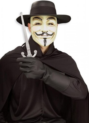 Rukavice V jako Vendetta
