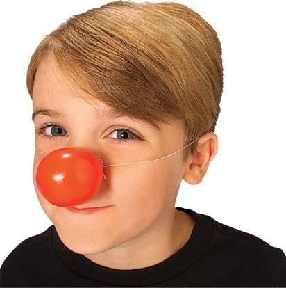 Klaunský nos plastový