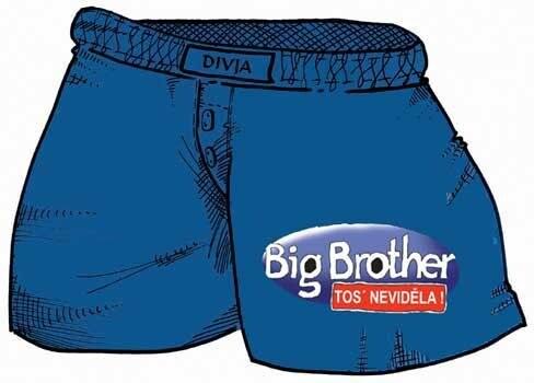 Trenýrky Big Brother Velikost L