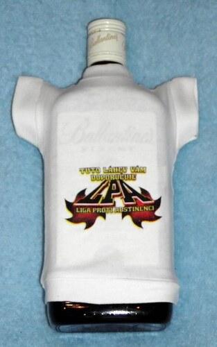 Tričko na flašku Tuto láhev vám doporučuje ...