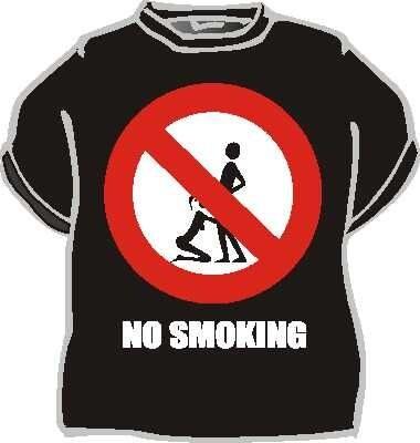 Tričko No smoking Velikost 146
