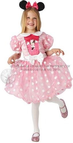 Dětský kostým Minie Mouse růžová Pro věk (roků) 3-4