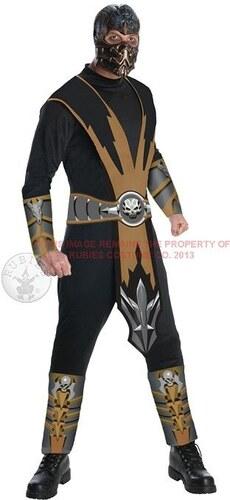 Kostým Scorpion Mortal Kombat Velikost L