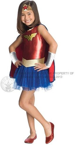 Dětský kostým Wonder Woman Pro věk (roků) 3-4