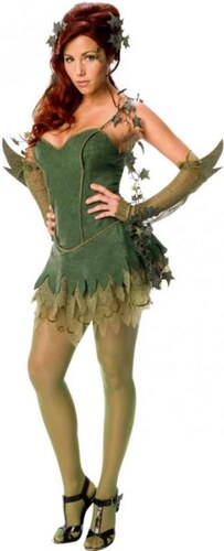 Kostým Poison Ivy Velikost M 40-42