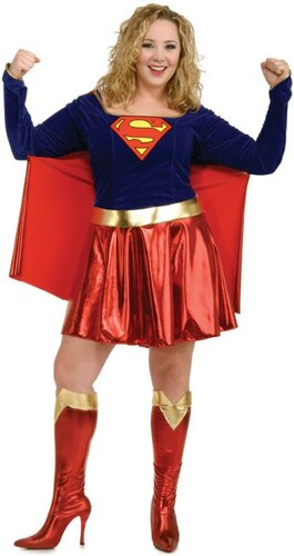 Kostým XL Supergirl