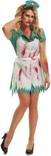 Kostým Krvavá sestřička Velikost M/L 42-44