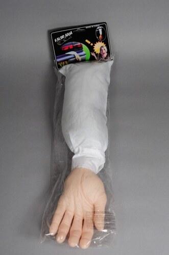 Useknutá ruka s rukávem