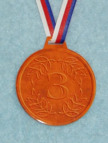 Medaile Bronzová