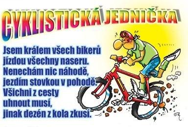 Průkaz Cyklistická jednička