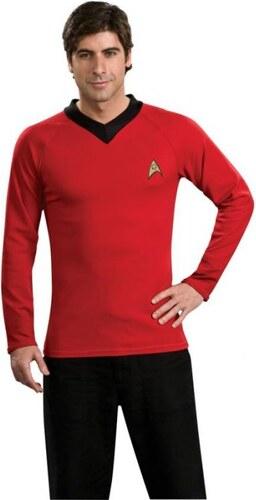 Kostým Red shirt classic deluxe Star Trek Velikost L